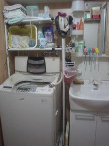 洗濯機到着!みんなが使いやすい配置とは?
