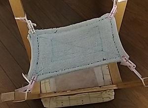 雑巾縫いの宿題|左手が使えないので苦肉の策